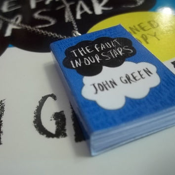 The Fault in Our Stars Miniature Book by CarasBookishCharms