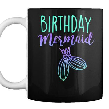 Birthday Mermaid Birthday Party Shirt