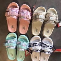 New Balance Camouflage Casual Slipper Sandals Shoes