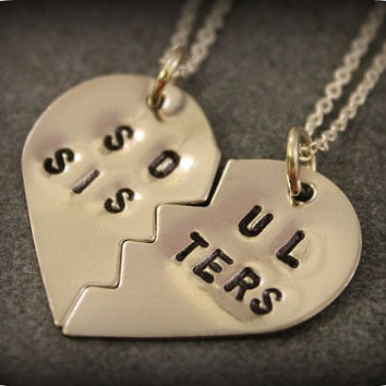 Soul Sisters Necklaces  Best Friend Jewelry  BFF by SometimesTwice