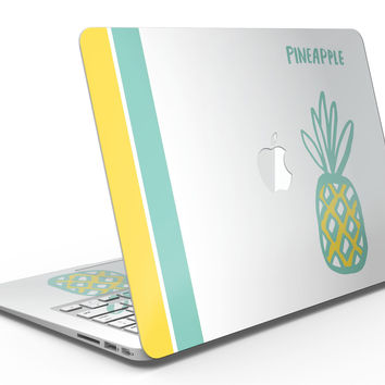 Bold Mint Pineapple - MacBook Air Skin Kit