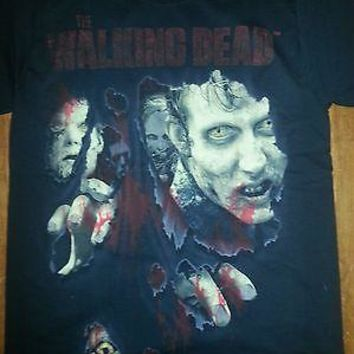 WALKING DEAD T-SHIRT AMC OFFICIALLY LICENSED Daryl Dixon ZOMBIE SHIRTS