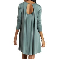 Open Back Shift Dress