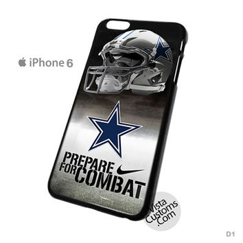 Dallas Cowboys Nike Prepare For Combat Football NFL Phone Case For Apple,  iphone 4, 4S, 5, 5S, 5C, 6, 6 +, iPod, 4 / 5, iPad 3 / 4 / 5, Samsung, Galaxy, S3, S4, S5, S6, Note, HTC, HTC One, HTC One X, BlackBerry, Z10