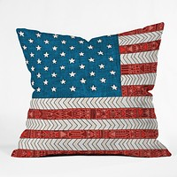 Bianca Green USA Throw Pillow