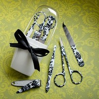 Pretty Damask Design Manicure Sets, 48