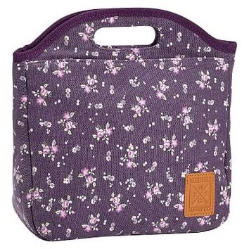 Northfield Purple Ditzy Floral Tote Lunch