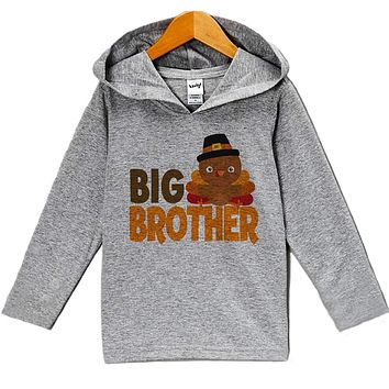 Custom Party Shop Baby Boy's Big Brother Thanksgiving Hoodie