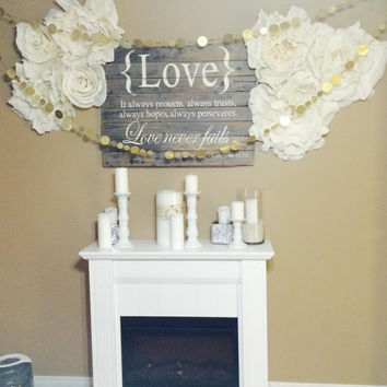 Oversized Crepe Paper Flowers Home Decor Wedding Event Realistic FREE SHIP US