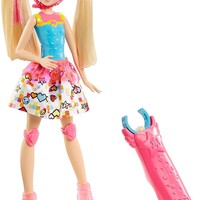 Barbie Video Game Hero Fashion Doll with Light Up Skates and Spinning Action