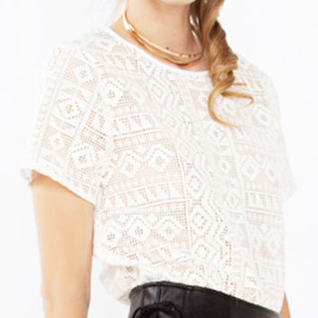 Bailey Laced Top