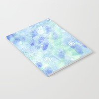 Blue lagoon Notebook by Savousepate