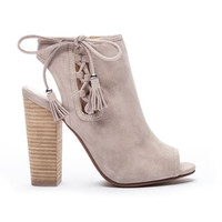 Legend Suede Grey Booties By Chinese Laundry