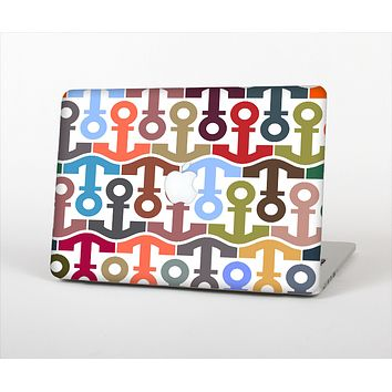 The Color Vector Anchor Collage Skin Set for the Apple MacBook Air 11""