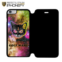OFWGKTA Odd Future Wolf Gang Cat iPhone 6 Plus Flip Case|iPhonefy