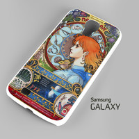 Howl's Moving Castle - Nouveau Howl's Moving Castle - Nouveau Art2 A0655 Samsung Galaxy S3 S4 S5 Note 3 Cases