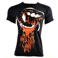 Falling in Reverse Vampire t shirt, band merch, Falling in Reverse merch UK