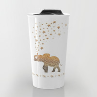ELEPHANT Travel Mug by Monika Strigel