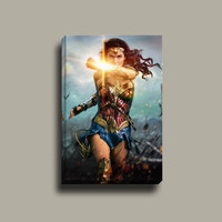 Wonder Woman 2017 | Mirror Wrap Professional Canvas