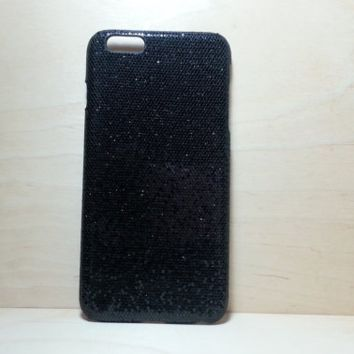 Glitter Case for iphone 6 Plus (5.5 inches) - Black