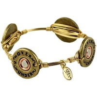 Bourbon & Boweties Shotgun Shell Bangle by Over Under Clothing
