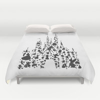 character castle... Duvet Cover by Studiomarshallarts