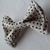 White spotted Black Bow Tie, toddler Bow tie, Doctor Who Bow Tie, Bow Tie Toddler, Boys Bow Tie, Doctor Who, Mens Bow Tie