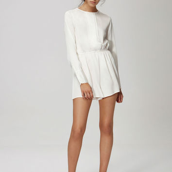 Buy Paradise City Playsuit - Ivory | The Fifth | The Birdcage Boutique