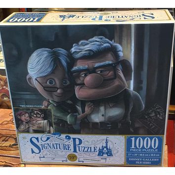 Disney Parks Signature Puzzle 10th Up 1000 pcs PuzzleTwo Sided Carl Ellie New