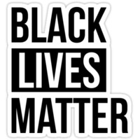 'Black Lives Matter' Sticker by Hanna Taylor