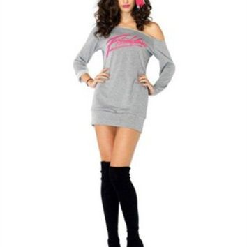 80's Flashdance Sweatshirt Dress - The Best 50's, 60's, 70's, & 80's Costumes and Accessories in the World - Funwirks.com