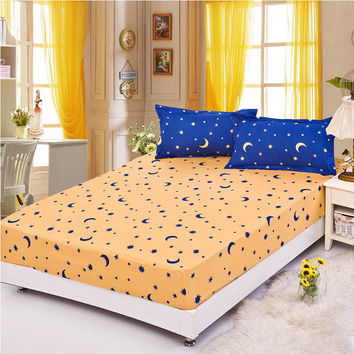 Elastic bedcloth cushion skirt  bedspread flat sheet fitted cover/skirt