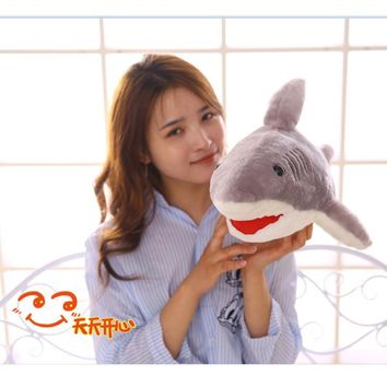 Sharks toy Doll Plush Sea Jaws Pillow Stuffed Animals Soft Plush Toys 80cm 100 cm Sharks Doll Plush Toys for children kids