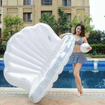 Giant Pearl in a Shell Pool Float Inflatable