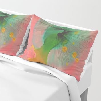 Center of Inattention Pillow Sham by duckyb
