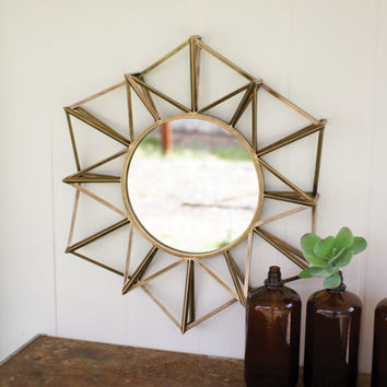 D'or Polygone Mirror