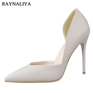 Luxury Brand Party Shoes For Women Shoes High Heel Wedding Shoes Woman's Shallow Fashion 2017 Summer Red Shoes BT-B0002