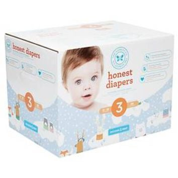 Honest Company Diapers Club Box, Snow Pals (Select Size)