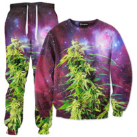 Galaxy Weed Tracksuit