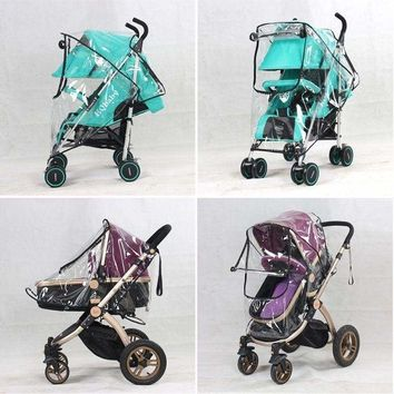 Waterproof Rain Cover Durable Baby Canopy Shield For Stroller Newborn Pushchairs