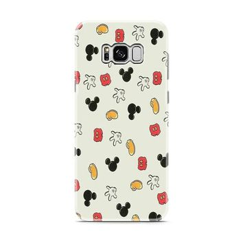 mickey pattern back case phone Samsung Galaxy S8 | Galaxy S8 Plus case