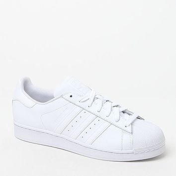 adidas Superstar Foundation White Shoes at PacSun.com