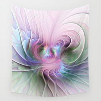 Temperament, Abstract Fractals Art Wall Tapestry by Gabiw Art