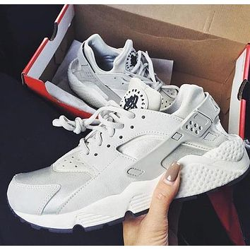 Nike Air Huarache 1 Men Women Hurache Running Sport Casual Shoes Snea F white