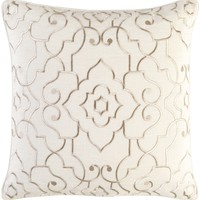 Adagio Throw Pillow Neutral, Neutral