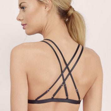 Over You Strappy Bralette $16