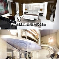Things I want to Buy / Water slide in the closet...