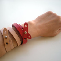 Slim Leather bracelet - Accessory