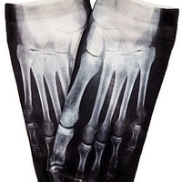 *MKL Accessories Socks X-Ray Bone