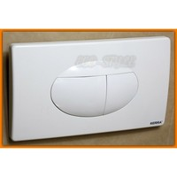 Valsir Flush Plate VS0828512 White Plastic